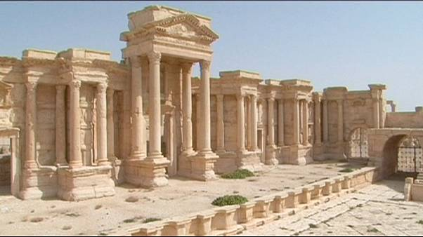 IS-Miliz sprengt Tempel in Palmyra