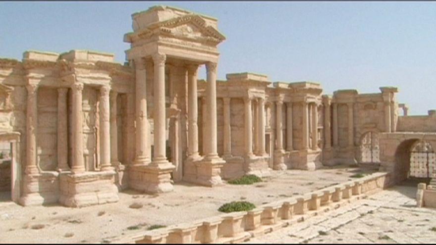 IS-Miliz sprengt Tempel in Palmyra