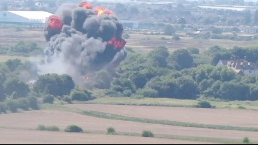 "AirShow di Shoreham: ""Probabili nuove vittime dalle macerie"""