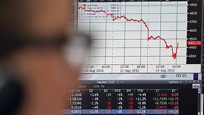 Chinese problems lead to plunging markets