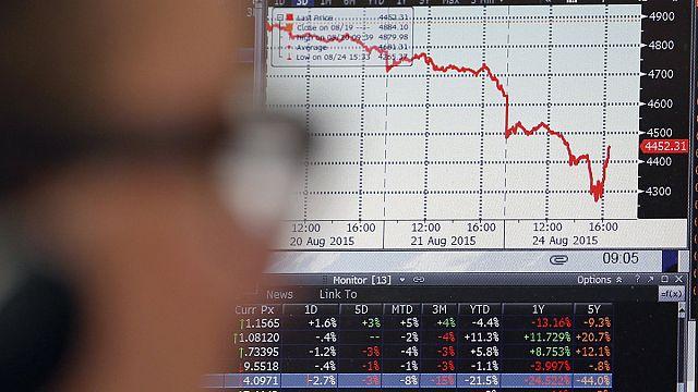 Inquiétude sur la croissance mondiale : l'Europe boursière panique