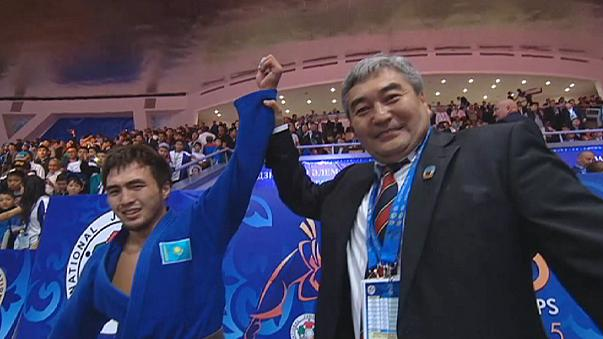Pareto and Smetov strike gold on opening day of judo Worlds