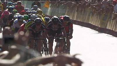 Vuelta: Sagan ends winning drought with stage three victory