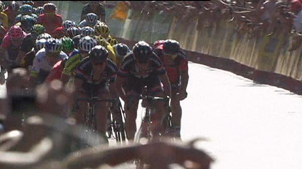 ساگان فاتح سومین مرحله مسابقات دوچرخه سواری دور اسپانیا شد