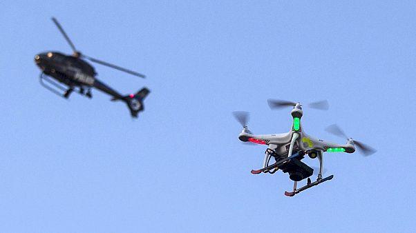 Drone para contrabando apanhado em Maryland