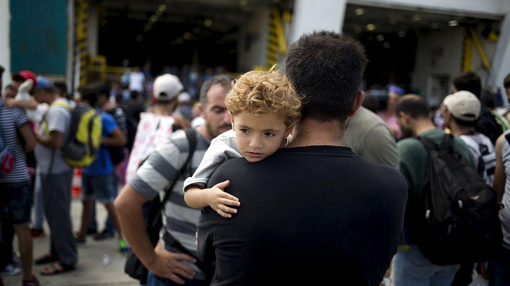 مزيد تدفق آلاف المهاجرين إلى أوروبا عبر مقدونيا وصربيا