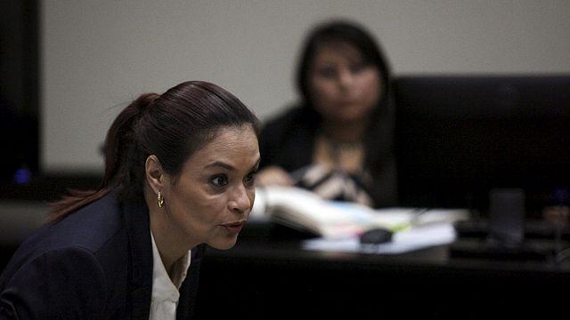 Guatemalas Ex-Vizepräsidentin wegen Korruption vor Gericht