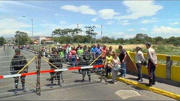 Tension rife at Colombia-Venezuela border