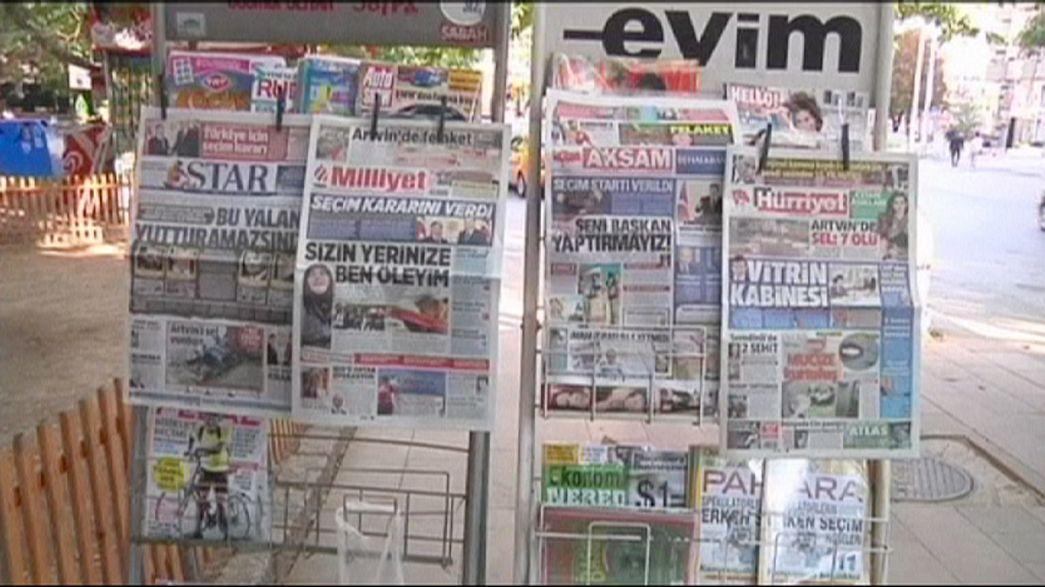 Réactions frileuses à Ankara après l'annonce de législatives anticipées