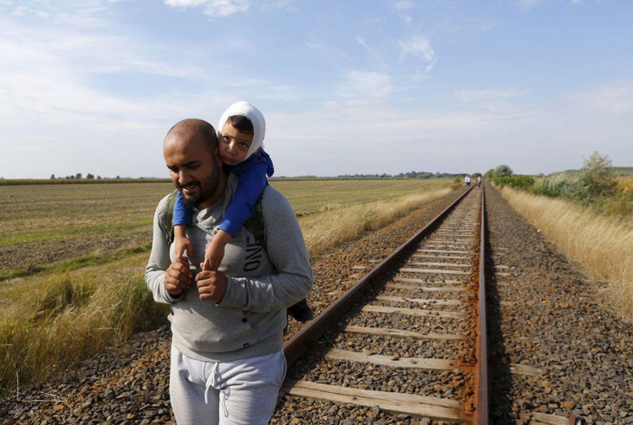 Le long voyage des migrants
