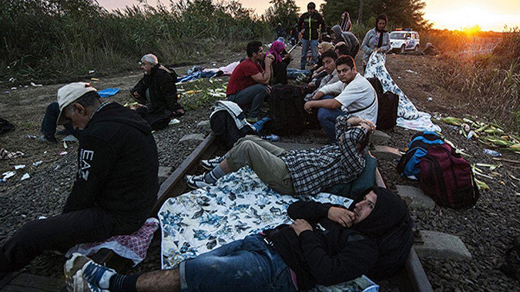 AB göçmen akınına uğrayan Macaristan'a destek olacak