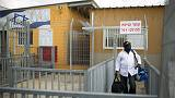 Hundreds of African migrants released from Israeli detention centre
