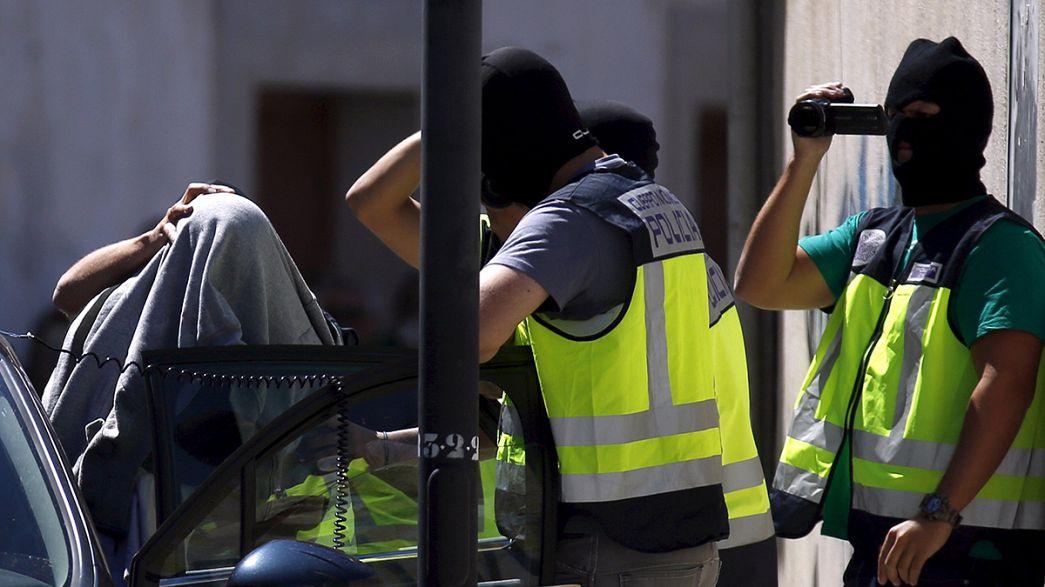 Catorze detidos na luta contra o terrorismo em Espanha e Marrocos