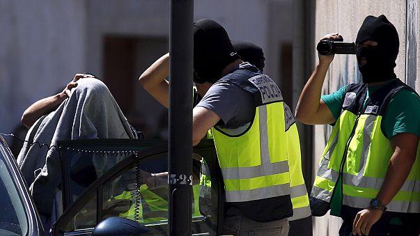 Vierzehn Terrorismusverdächtige in Spanien und Marokko festgenommen