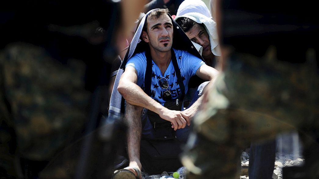 La ONU prevé que unas 3.000 personas crucen la frontera entre Macedonia y Serbia los próximos días