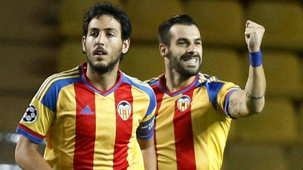 Champions: Valencia ai gironi col brivido, Monaco eliminato