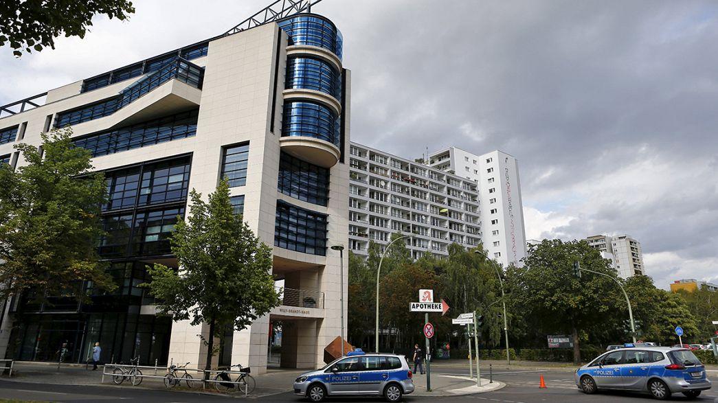 """El SPD califica de """"acción política"""" la amenaza de bomba en su sede de Berlín"""