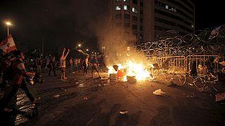 В Бейруте разобрали «стену позора»