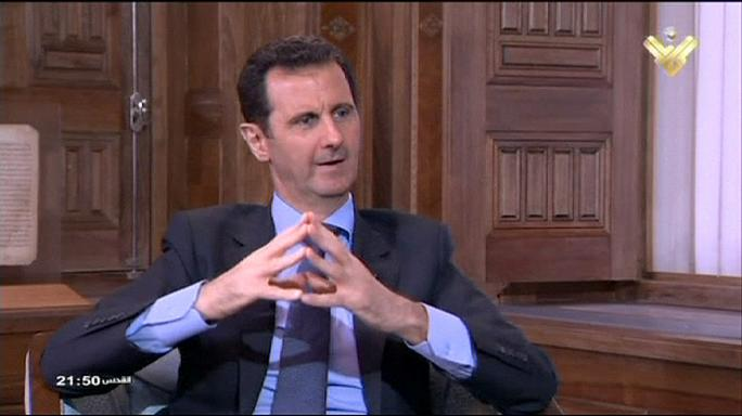 Bachar al-Assad se dit confiant du soutien russe