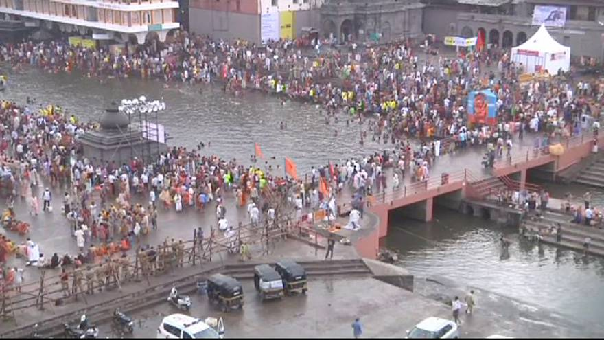 Hindus launch Kumbh Festival with mass bathing