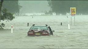 Australian floods leave New South Wales in deep water