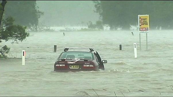 Πλημμύρισε η Νέα Νότια Ουαλία από τις έντονες βροχοπτώσεις
