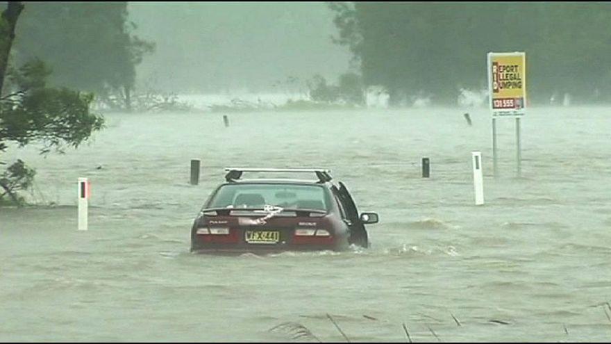 New South Wales víz alatt van az áradások után