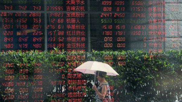 """Лихорадку на биржах из-за ситуации в Китае """"вылечить"""" не удается"""