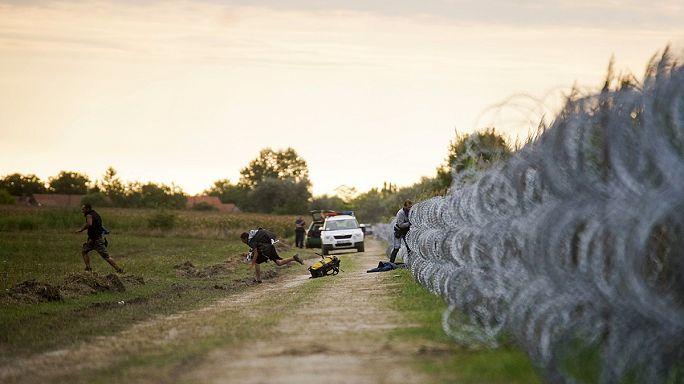 Hongrie : l'afflux de migrants se poursuit à la frontière serbe