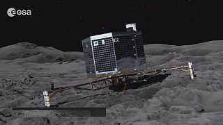 Rosetta görevinde sona doğru