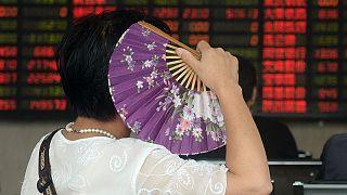 Bolsa chinesa encerra em terreno negativo