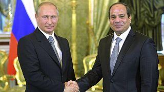 Ρωσία: Τον Πρόεδρο της Αιγύπτου υποδέχθηκε ο Βλαντιμίρ Πούτιν