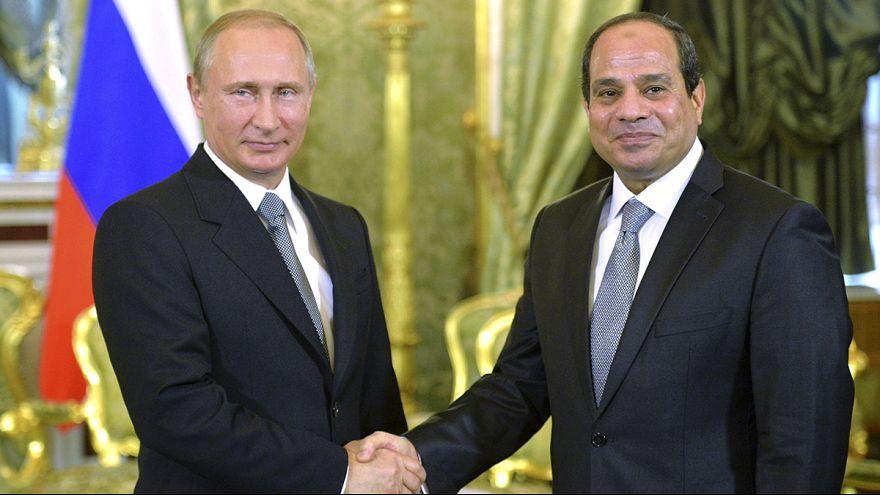 Al-Sissi reçu au Kremlin, signe que l'Egypte diversifie ses alliances