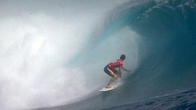 Surf: Le Français Florès plus fort que le champion du monde