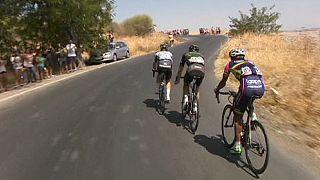 نمایش عالی رکابزن استرالیایی در مسابقات دوچرخه سواری دور اسپانیا