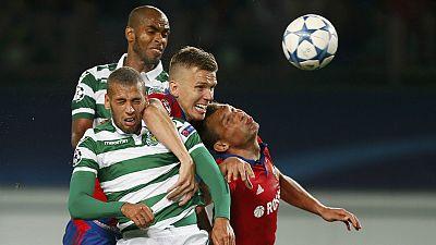 """Liga dos Campeões, """"play-off"""": Sporting perde (3-1) em Moscovo e é """"empurrado"""" para Liga Europa"""