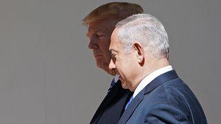 Image: Trump and Netanyahu at the White House