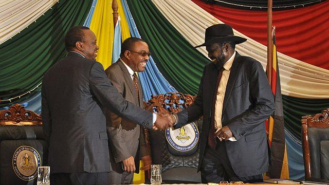 رئيس جنوب السودان يوقع اتفاق سلام