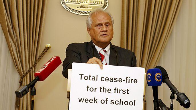 Ukrayna'da silahlar öğrenciler için susacak
