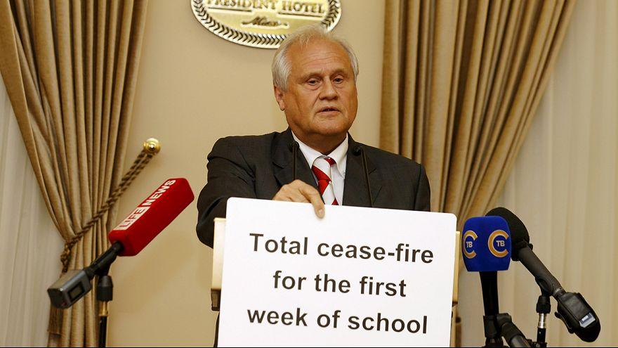 Ukraine : une rentrée scolaire sans bombardements dans l'Est?