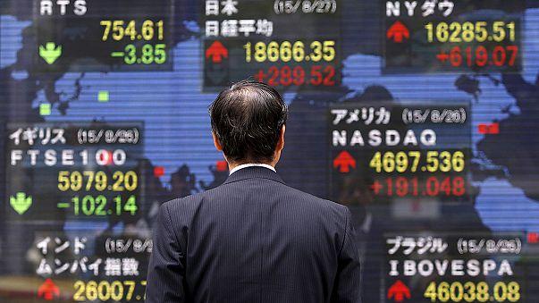 Asian markets steady their nerves.