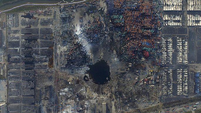 الصين: اعتقال 12 شخصا على خلفية انفجار تيانجين
