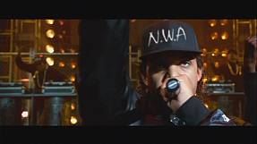 Rap biopic rules Hollywood as NWA stay top for second week