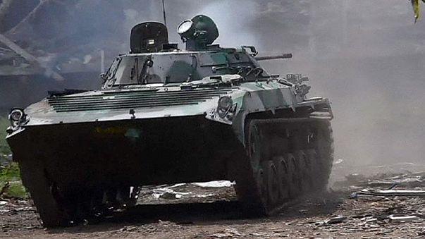 Ukraine: Sieben Regierungssoldaten getötet