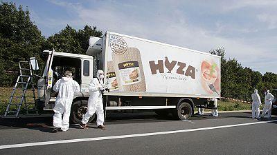 Plusieurs corps de migrants retrouvés dans un camion en Autriche