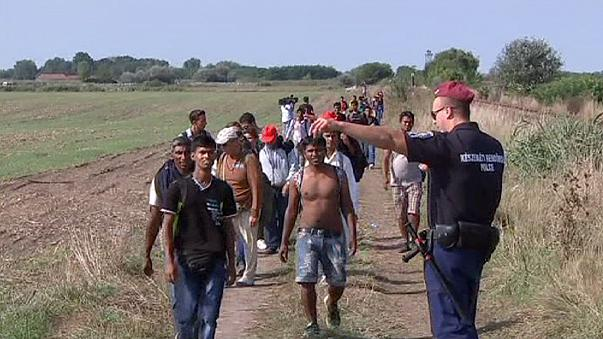 Número recorde de imigrantes entra na Hungria