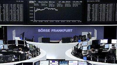 Las bolsas europeas suben de forma importante, tras el fuerte repunte en Wall Street y China