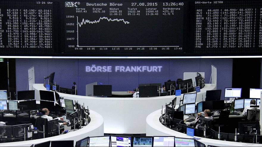 US and European stocks rally after Chinese shares halt their slide