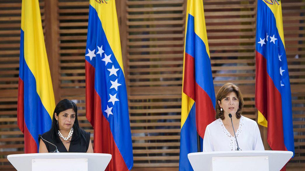 Se rebaja la tensión en la crisis fronteriza entre Colombia y Venezuela