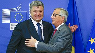 Ukraine asks Europe for more help to support Minsk accords